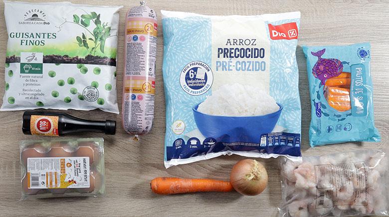 arroz 3 delicias chino ingredientes