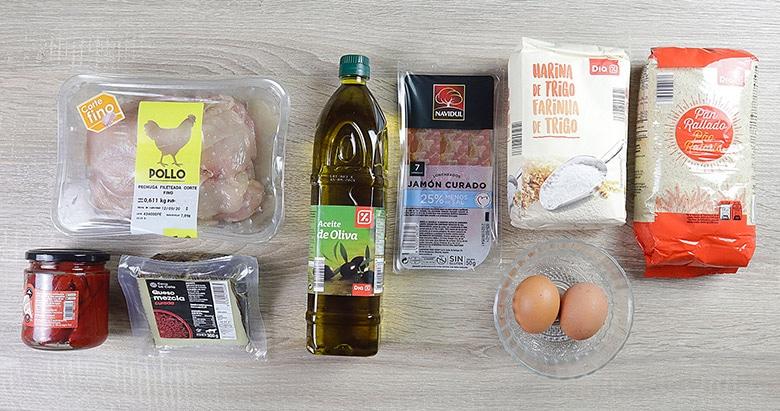 san jacobos de pollo ingredientes