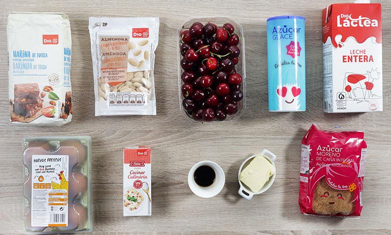 clafoutis de cerezas ingredientes