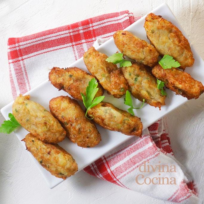 croquetas patatas bacalao