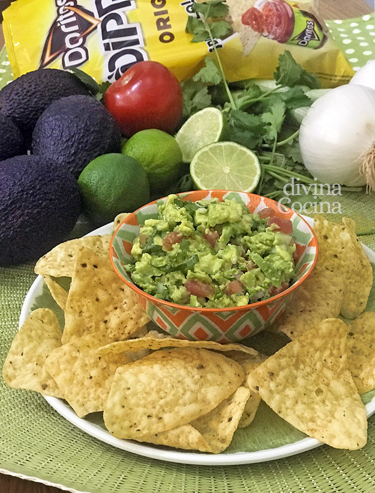 guacamole receta mexicana