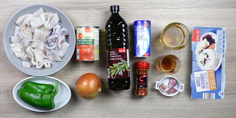 calamares salsa americana ingredientes