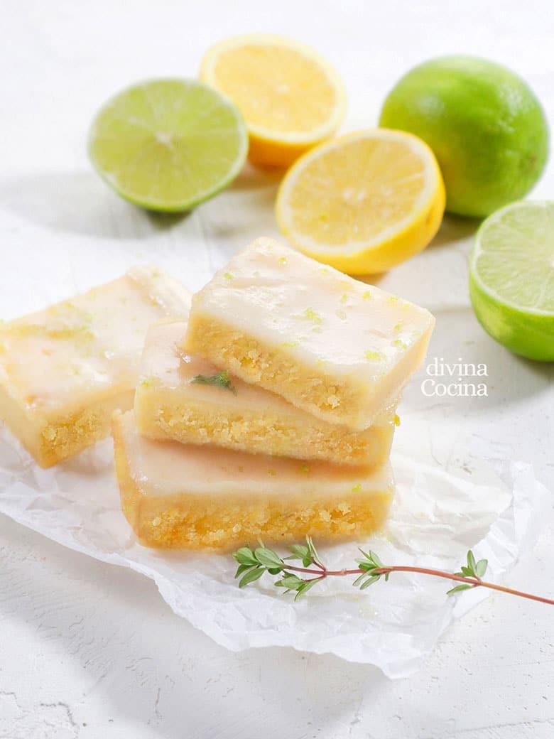brownie de limon lemonies