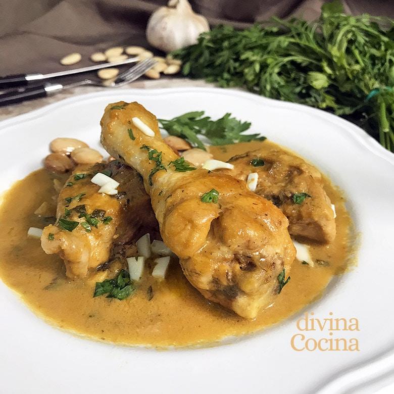 Pollo En Pepitoria Receta Tradicional Receta De Divina Cocina
