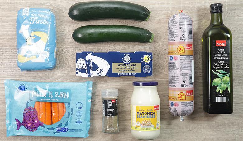 paquetitos de calabacin ingredientes