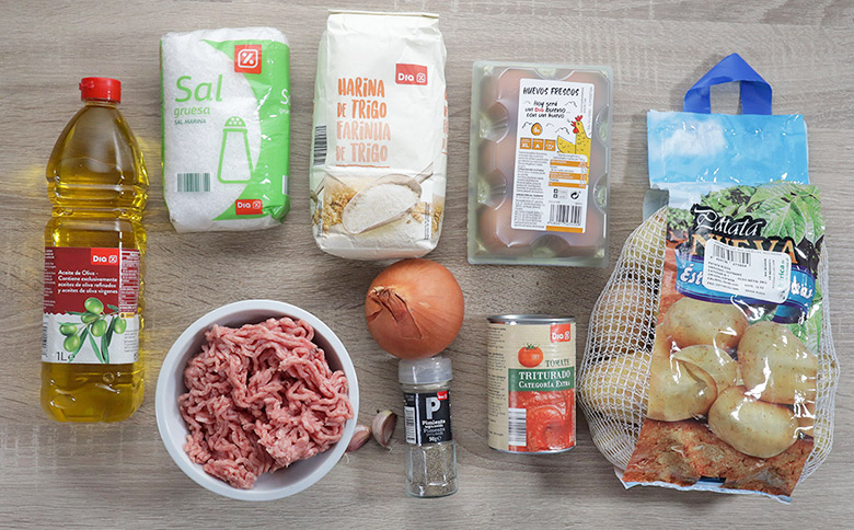 ingredientes patatas bomba