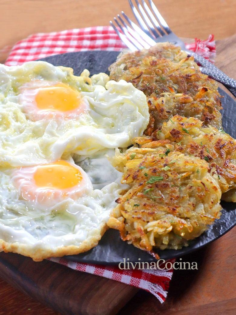 hash brown de patata