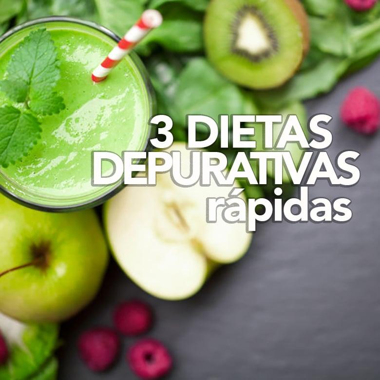 3 dietas depurativas rápidas y efectivas