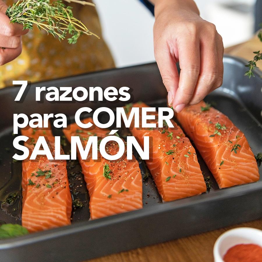 Beneficios del salmón para la salud