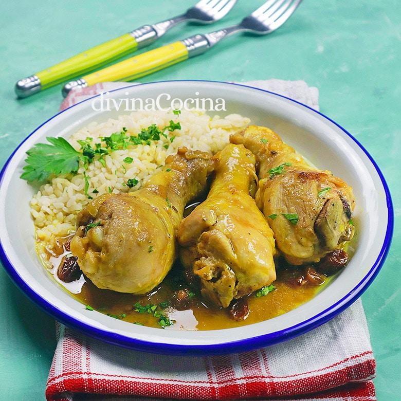 pollo guisado al curry