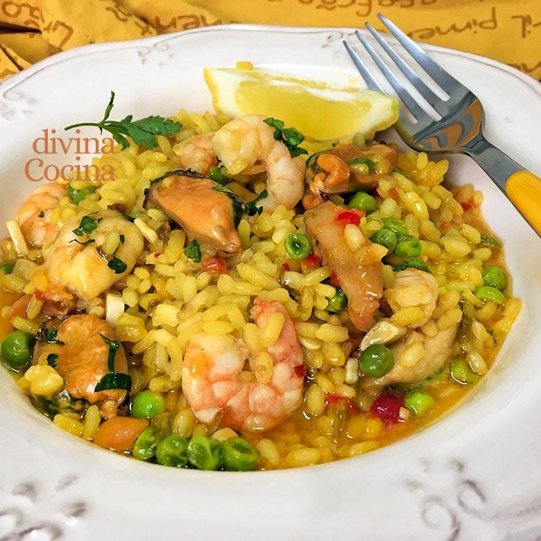arroz meloso marinero
