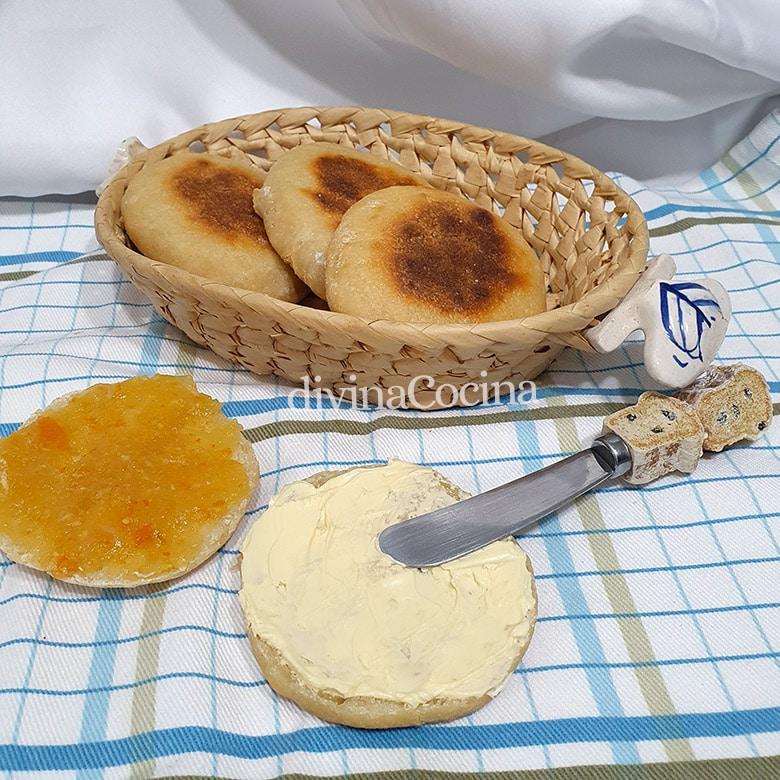 Pan de yogur sin horno sarten