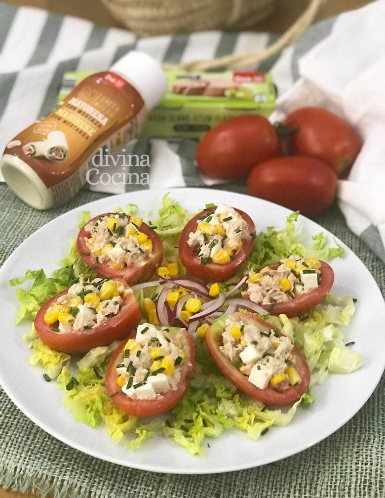 tomates rellenos frios