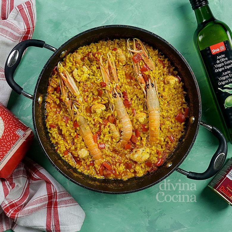 arroz con cigalas