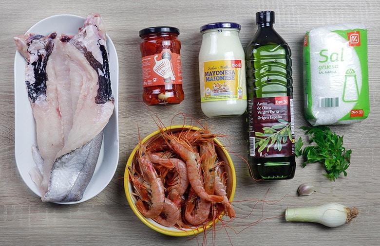 merluza rellena ingredientes