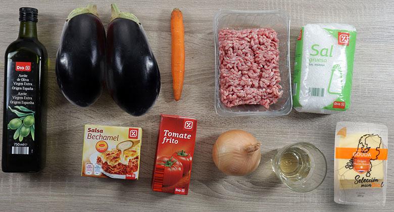 moussaka ingredientes