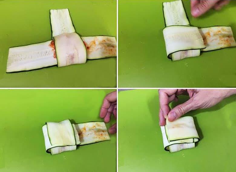 paquetitos calabacin detalle