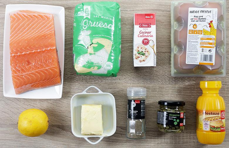 salmon vapor salsa muselina ingredientes