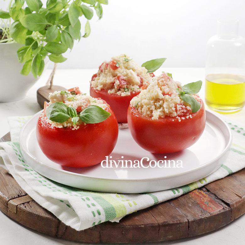 tomates rellenos de cuscus