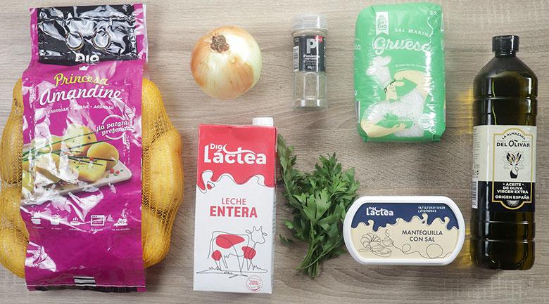 patatas mayordomo ingredientes