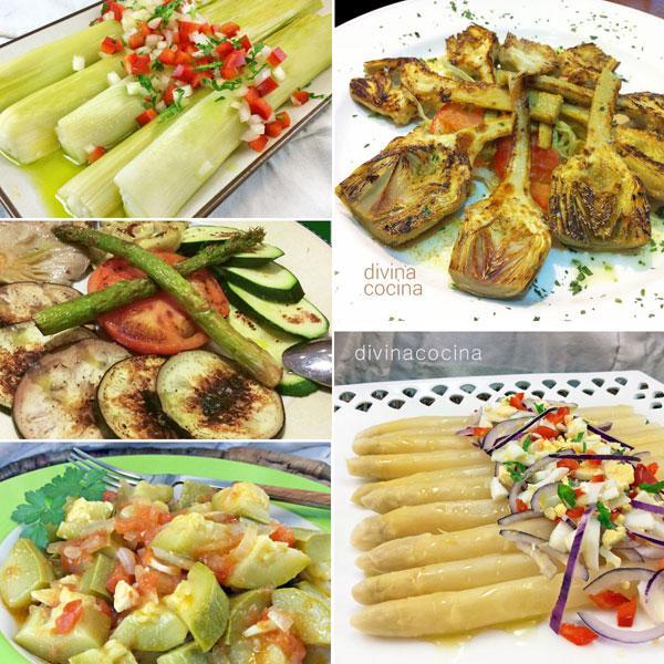 recetas de 7 platos de verduras ligeros y f ciles divina