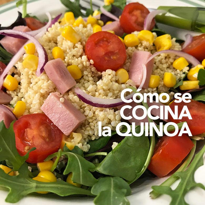 como se prepara la quinoa