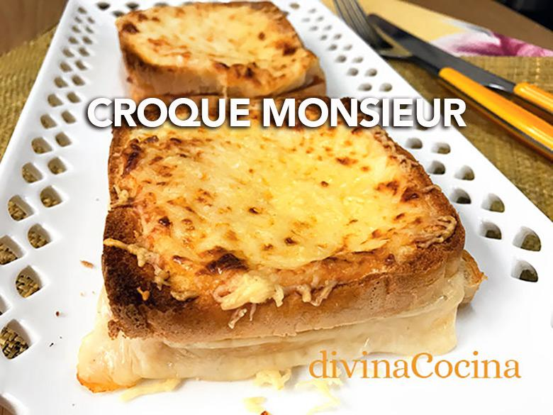 croque monsieur F