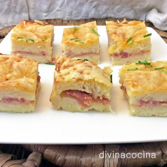 Receta de Pastel de Pan de Molde gratinado Divina Cocina