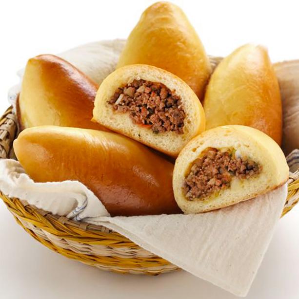 piroshki empanadillas de carne rusas