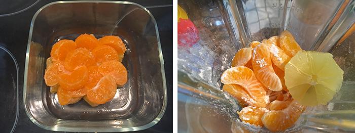 receta de sorbete mandarina para navidad