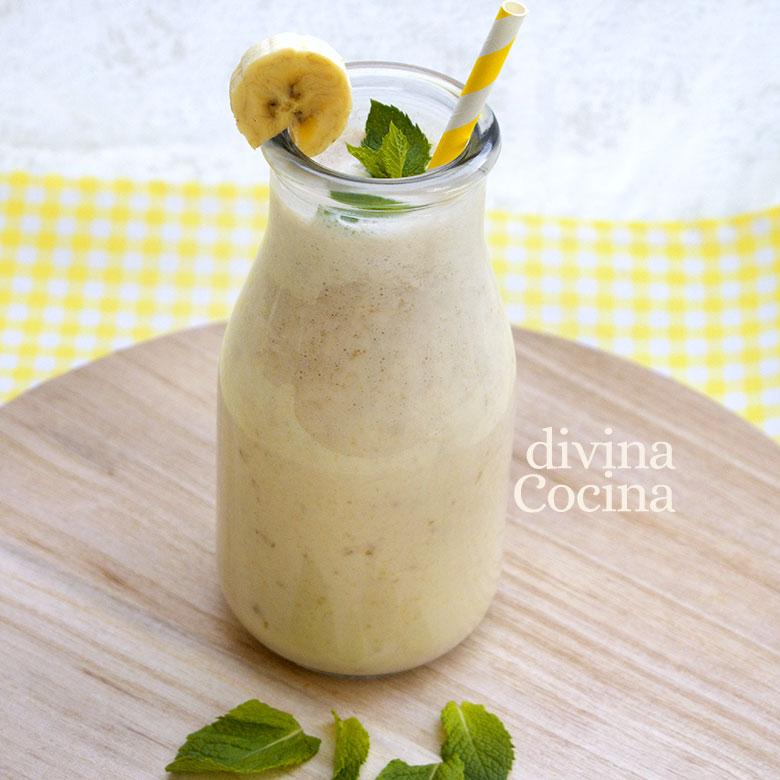 smoothie platano yogur