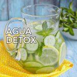 Cómo preparar Agua Detox depurativa