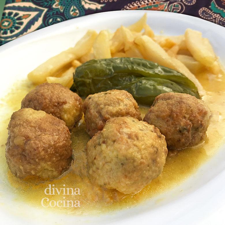 albondigas de cordero al curry