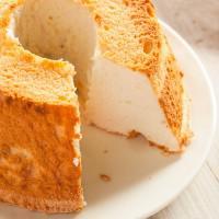 Pastel de ángel (Angel Food Cake)