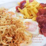 El Antojo de la Venta Esteban (huevos con patatas y jamón)