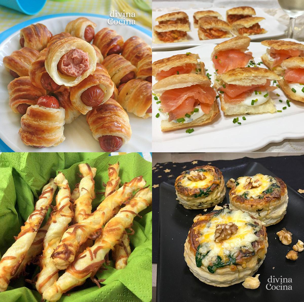 Aperitivos De Hojaldre Para Invitados Receta De Divina Cocina