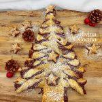 Árbol de Navidad de Hojaldre