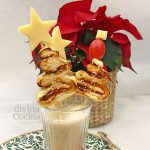 Arbolitos de Navidad de Hojaldre rellenos