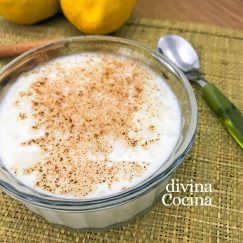 arroz con leche en el microondas - Divina Cocina