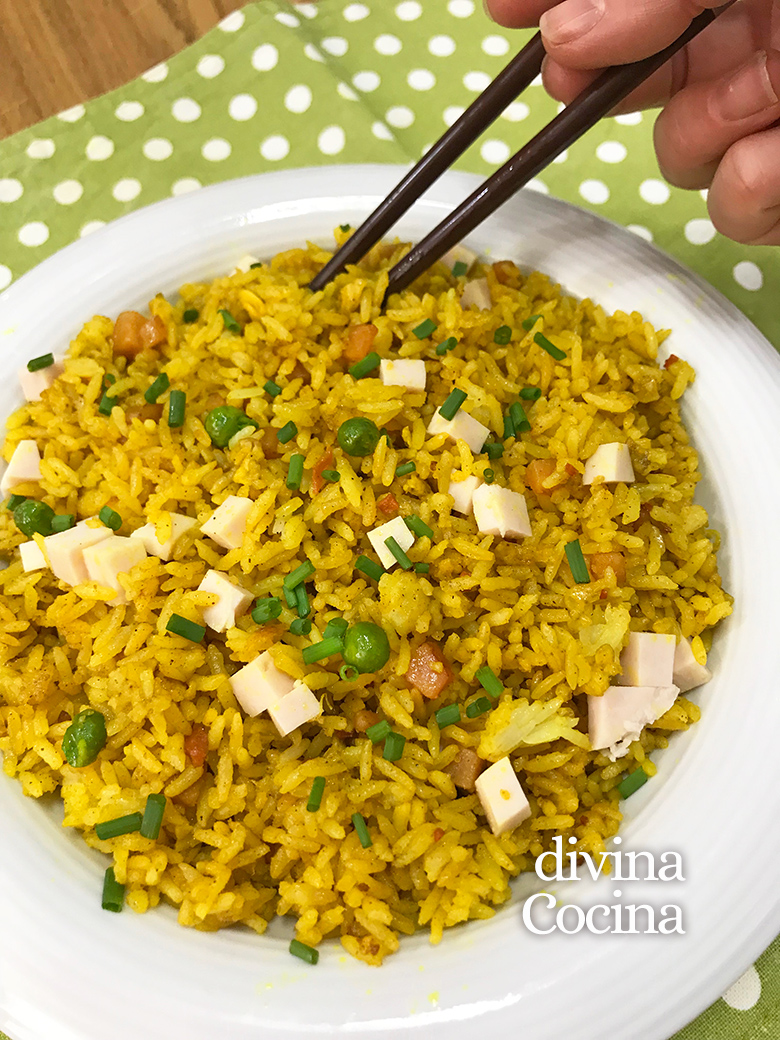 arroz frito al curry 2