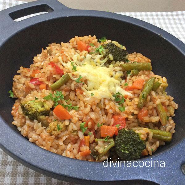 arroz-hortelano-cazuela-gratinado