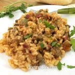 Arroz chacinero o arroz cortijero