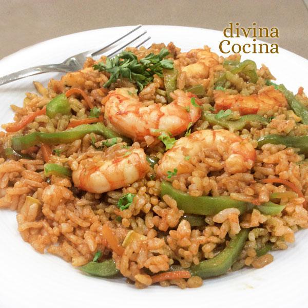 Receta De Arroz Thai Con Langostinos Divina Cocina