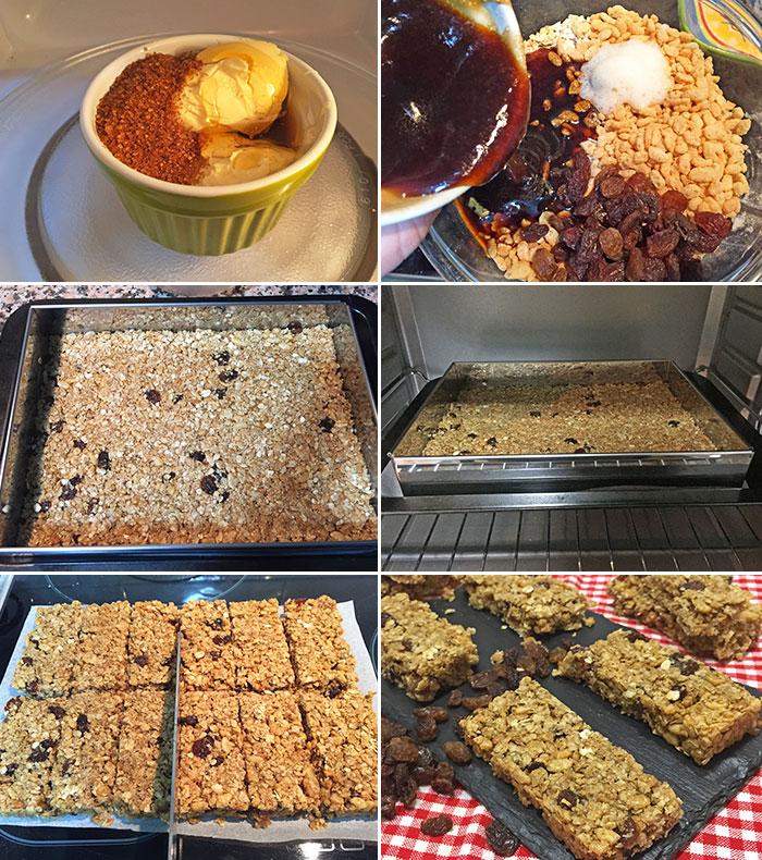 Barritas De Cereales Caseras Receta De Divina Cocina