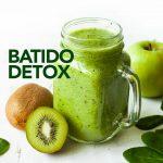 Batido detox de kiwi y manzana