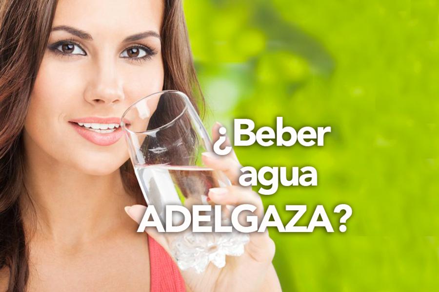 beber agua adelgaza