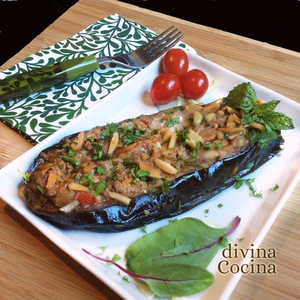 Receta de berenjenas rellenas moz rabes divina cocina for Divina cocina canapes