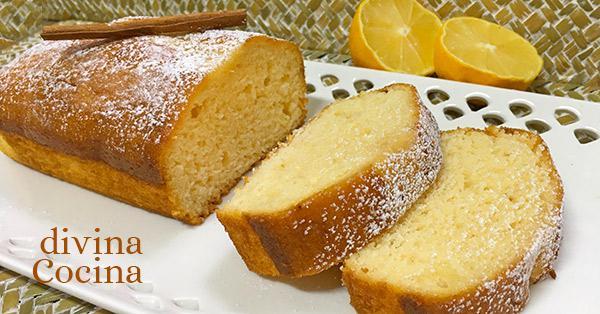 bizcocho de miel y limón