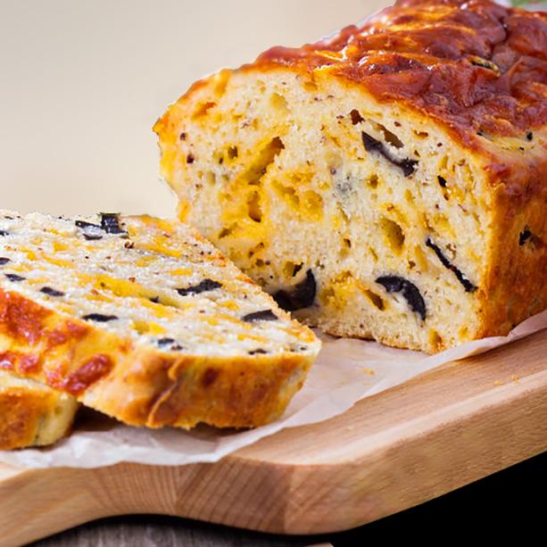 cake salado queso aceitunas 2