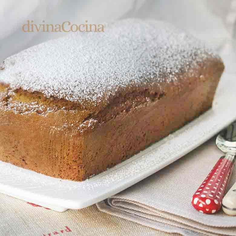 receta bizcocho rapido miel y especias